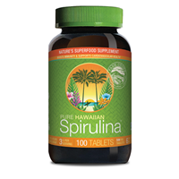 Nutrex Pure Hawaiian Spirulina - 100 x 500mg Tablets