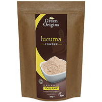Green Origins Organic Lucuma Powder - 300g  - Best before date is 31st January 2017