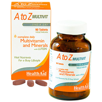 HealthAid A to Z Multivit - Multivitamins - 90 Tablets
