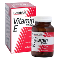 HealthAid Vitamin E 1000iu One-A-Day - 30 Capsules