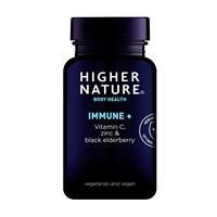 Higher Nature Immune + Vitamin C with Zinc - 90 Tablets