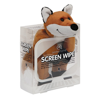 Aroma Home Screen Wipe - Brown and White Fox