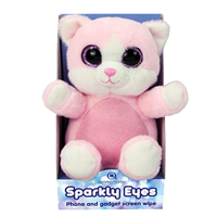 Aroma Home Sparkly Eyes Phone & Gadget Screen Wipe- Cat