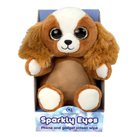Aroma Home Sparkly Eyes Phone & Gadget Screen Wipe- Dog