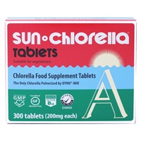 Sun Chlorella A1 - 300 x 200mg Tablets