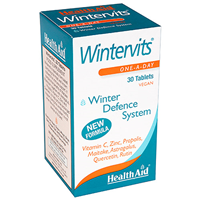 HealthAid Wintervits-Winter Defence-30 Vegan Tablets