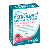 HealthAid EchiGuard - Cold & Flu Relief - 30 Tablets