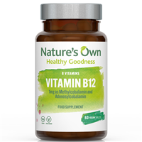 Natures Own High Potency Vitamin B12 - 60 Vegan Tablets