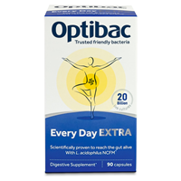 OptiBac Probiotics - For Every Day EXTRA - 90 Capsules