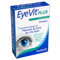 HealthAid EyeVit Plus - Eye Maintainance - 30 Capsules