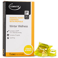 Comvita Manuka Honey - Lemon & Honey - 12 Lozenges