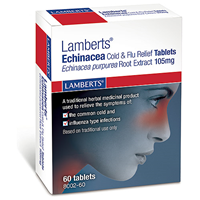 LAMBERTS Echinacea - Cold and Flu Relief - 60 Tablets