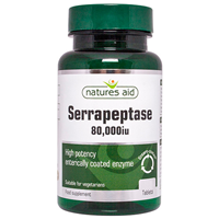 Natures Aid Serrapeptase 80,000iu - 30 Tablets