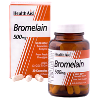 HealthAid Bromelain - Digestion - 500mg x 30 Vegicaps