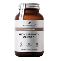 Wild Nutrition High Strength Omega 3 - 60 Capsules