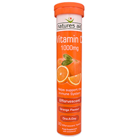 Natures Aid Vitamin C (Orange Flavour) - 20 Tablets