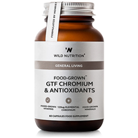 Wild Nutrition GTF Chromium & Antioxidants- 60 Vegicaps