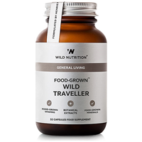 Wild Nutrition Wild Traveller - 32 Capsules - Best before date is 31st March 2017