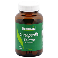 HealthAid Sarsaparilla 560mg Equivalent - 60 Tablets