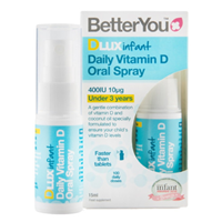 BetterYou DLux Infant - Vitamin D Oral Spray - 15ml