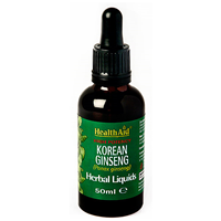 HealthAid Korean Ginseng - Herbal Liquid - 50ml