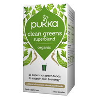 Pukka Organic Clean Greens Powder - 112g