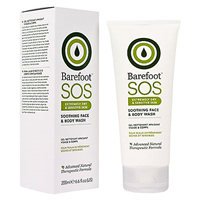 Barefoot SOS Soothing Face & Body Wash - 200ml