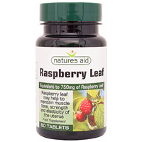 Natures Aid Raspberry Leaf - 60 Tablets