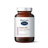 Vitamin B6 - 60 x 50mg Vegicaps