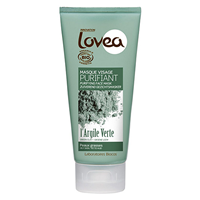 Lovea Face Mask - Green Clay - For Oily Skin - 75ml