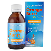 Cleanmarine Krill Oil for Kids - Omega 3 Liquid - 150ml