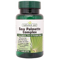 Natures Aid Saw Palmetto Complex - 60 Tablets