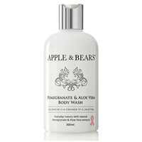 APPLE & BEARS Pomegranate & Aloe Vera Body Wash - 300ml