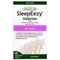 Natures Aid SleepEezy - Valerian Root - 60 Tablets