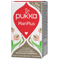Pukka ManPlus - Support For Men - 30 Vegicaps