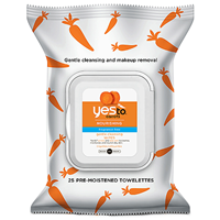 Yes To Carrots - Gentle Cleansing Wipes - 25 Wipes