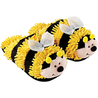 Aroma Home Kids Slippers - Fun for Feet - Bumble Bee