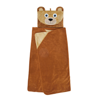 Aroma Home Hooded Blankets for Kids - Bear