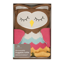 Aroma Home Knitted Owl Hottie