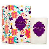 Pacifica Deluxe Edition Soy Candle Lotus Garden - 213g