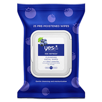 Yes To Blueberries - Cleansing Facial Wipes - 25 Pack