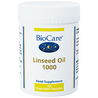 Linseed Oil 1000 - 60 x 1050mg Vegicaps