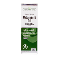 Natures Aid Vitamin E Oil 20,000iu - 50ml