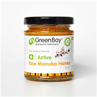 Green Bay 8+ Active Raw Manuka Honey - 227g
