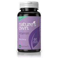 Natures Own Vitamin E 150iu - 60 Capsules
