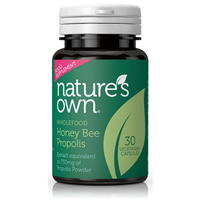 Natures Own Honey Bee Propolis - 30 Capsules