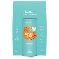 LoveRaw Turmeric Blend Organic Food Booster Blend - 150g - Best before date is 30th September 2019