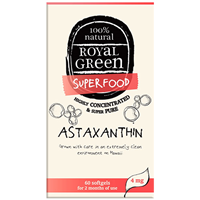 Royal Green Superfood Astaxanthin - 60 Softgels