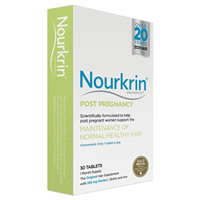 Nourkrin Post Pregnancy - Hair Maintenance - 30 Tablets