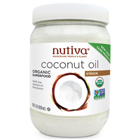 Nutiva Organic Virgin Coconut Oil - 858ml